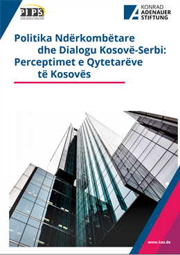 International Politics  and Kosovo-Serbia Dialogue: