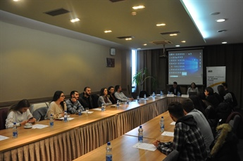 "First meeting with journalists as part of the program ""Journalists in the field of energy and environment"""