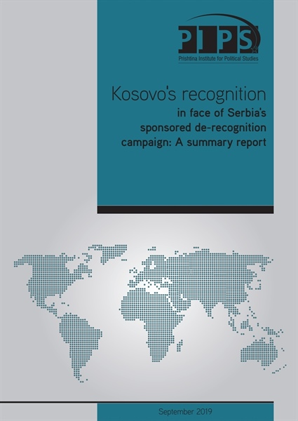 Kosovo's Recognition in Face of Serbia's Sponsored Derecognition Campaign: A Summary Report