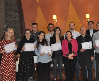 Closing event of the eighteenth generation of the Prishtina School for Political Studies